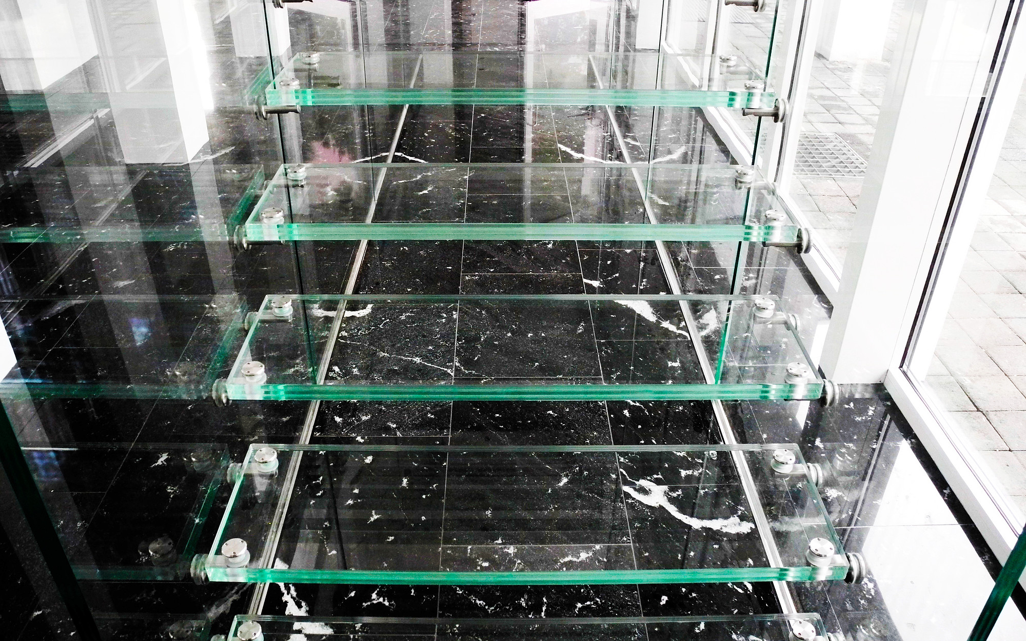 All In Glas.All Glass Stairs Cologne Siller Stairs