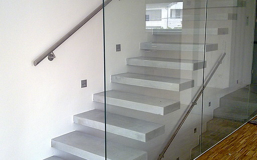 Concrete stairs - Siller Stairs