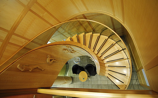 Cantilevered stairs - Siller Stairs